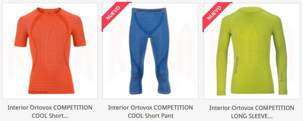 Prendas Interior, Térmicas para Hombre de Ortovox en tienda.deporteskoala.com