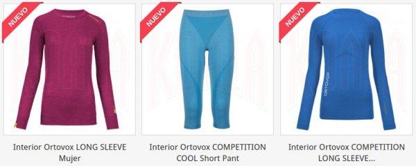 Prendas Interior, Térmicas para Mujer de Ortovox en tienda.deporteskoala.com