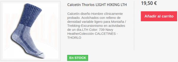 Calcetines Thorlo LIGHT HIKING LTH