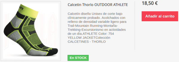 Calcetines Thorlo OUTDOOR ATHLETE