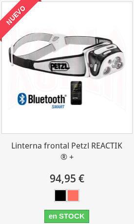 Linterna Frontal Petzl Reactik Plus