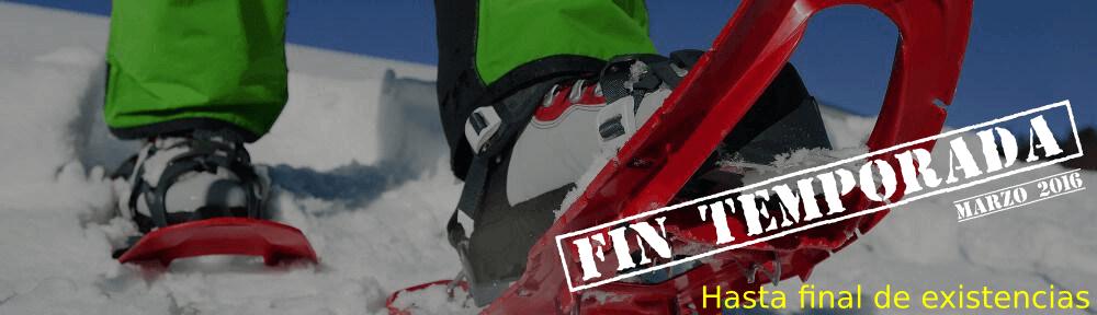 Raquetas de Nieve TSL. FIN DE TEMPORADA – Marzo 2016: 20% Dto. hasta fin de existencias