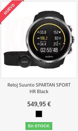 Suunto Spartan Sport HR Black