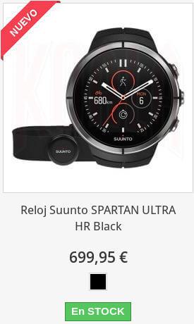 Suunto Spartan Ultra HR Black