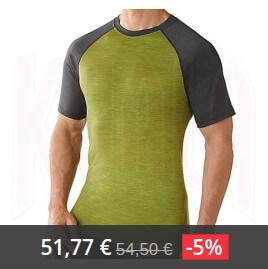 camiseta smartwool men nts 150 combo tee 2 Lana Merino