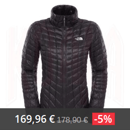 north face thermoball mujer