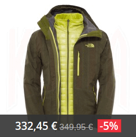 the north face thermoball hombre