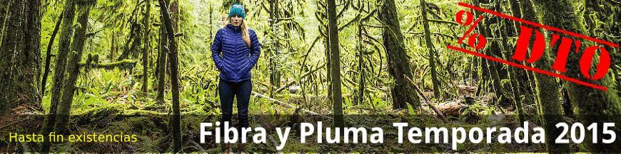 Fibra y Pluma. Temporada 2015 - % Dto - Hasta final de existencias - Deportes Koala