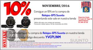 codigo descuento relojes gps suunto promocion noviembre 2016 deportes koala 300x162 Códigos Descuento Noviembre 2016