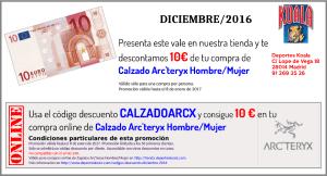 dic2016 codigo descuento calzadoarcx 300x162 Códigos Descuento Diciembre 2016