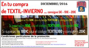 dic2016 codigo descuento textil 300x161 Códigos Descuento Diciembre 2016