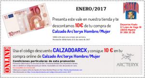 ene2017 codigo descuento calzadoarcx 300x162 Códigos Descuento Enero 2017
