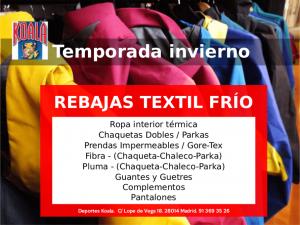 mar2017 rebajas textil frio 300x225 Codigos Descuento Marzo 2017