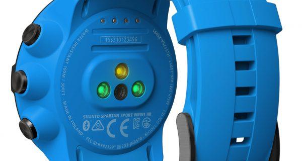 suunto spartan sport wirst ht blue rear view deporteskoala 600x320 Suunto Spartan Sport Wrist HR