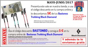 may jun 2017 codigo descuento bastonbd 300x162 Codigos Descuento Mayo Junio 2017