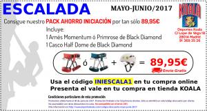 may jun 2017 codigo descuento iniescala1 300x162 Codigos Descuento Mayo Junio 2017