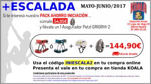 may jun 2017 codigo descuento iniescala2 300x167 Codigos Descuento Mayo Junio 2017