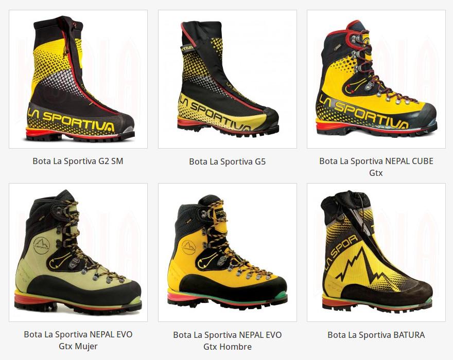 botas alpinismo expedicion lasportiva deporteskoala Botas de alpinismo La Sportiva G5