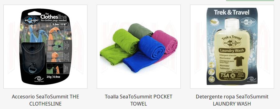 358 toallas aseo personal sea to summit Sea To Summit